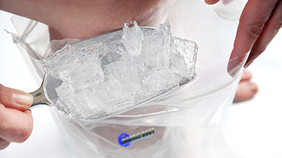 Reusable Ice Bag With Multiple Layers So Nice Ice Touches Skin Thumbnail